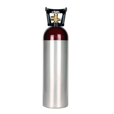 Beverage Elements 60 cu ft nitrogen cylinder aluminum new
