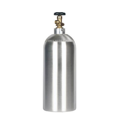 Beverage Elements 10 lb CO2 cylinder aluminum new