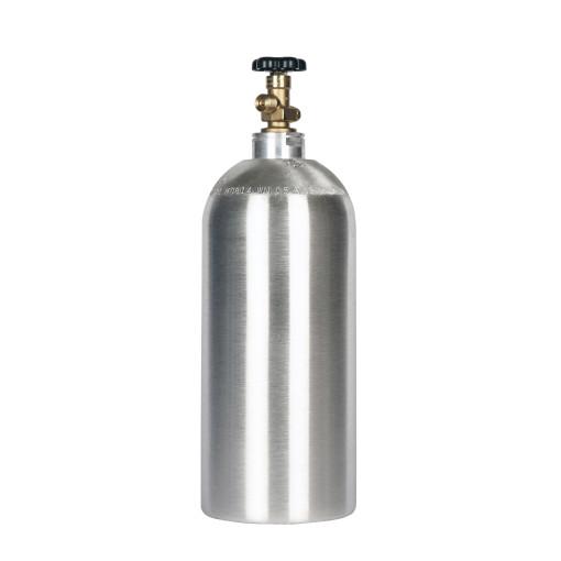 Beverage Elements 10 lb CO2 cylinder aluminum new