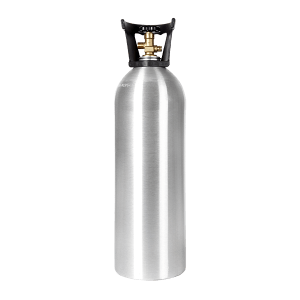 Beverage Elements 20 lb CO2 cylinder aluminum new