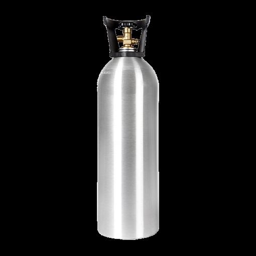 Beverage Elements 20 lb CO2 cylinder aluminum new