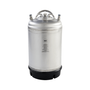 Beverage-EBeverage Elements 3 gallon ball-lock keg single handle newlements-3-gallon-stainless-steel-ball-lock-keg-with-handle