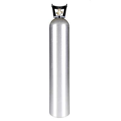 Beverage Elements 35 lb CO2 cylinder aluminum with handle new