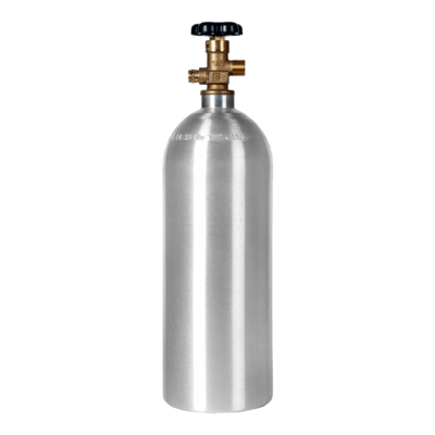 Beverage Elements 5 lb CO2 Cylinder Aluminum New
