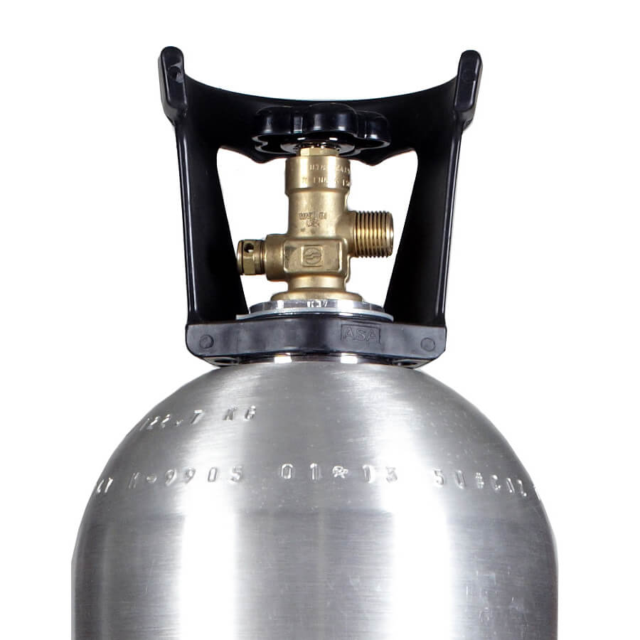 50 lb C02 Cylinder New Aluminum Tank | Purchase Affordable C02 Tanks at  Beverage Elements