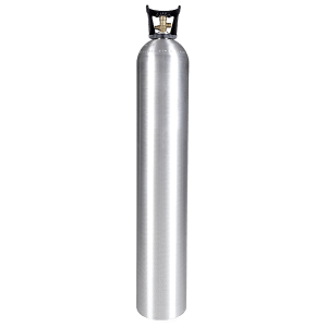 Beverage Elements 50 lb CO2 cylinder aluminum new