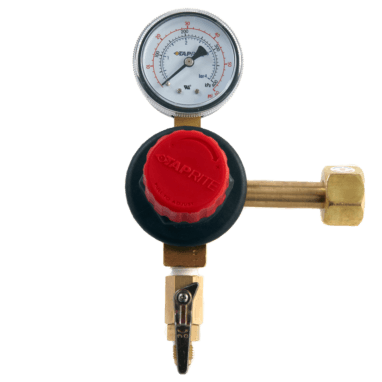 Beverage Elements Taprite CO2 regulator single gauge