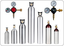 Gas Cylinders and Regulators