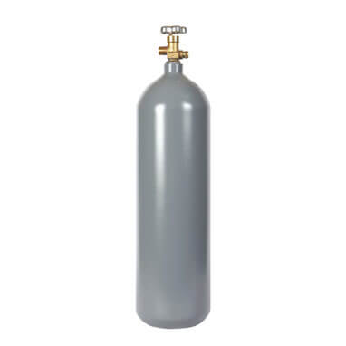 Beverage Elements 15 lb CO2 cylinder steel recertified