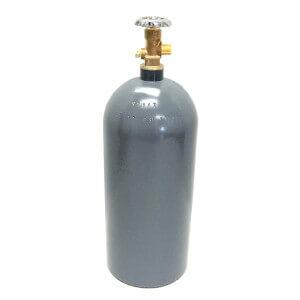 Beverage Elements 15 lb CO2 cylinder aluminum recertified