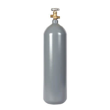 Beverage Elements 20 lb CO2 Cylinder Steel Recertified