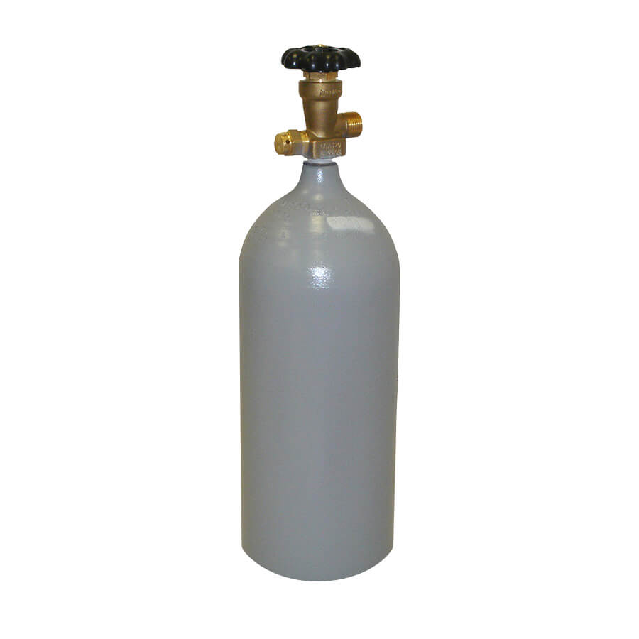 5 lb CO2 Cylinder - Steel - Recertified