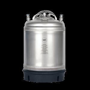 Beverage Elements 2.5 gallon ball lock keglements AMCYL stainless steel single handle 2 point 5 gallon ball lock keg single handle