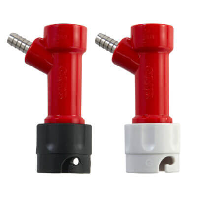 Beverage Elements Barbed Pin Lock Disconnect Liquid Gas