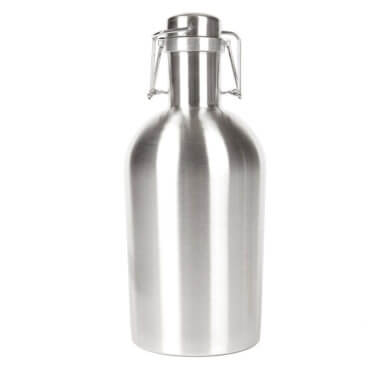 Beverage Elements 64 ounce stainless steel growler