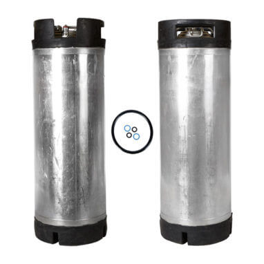 Beverage Elements Reconditioned Ball Lock Keg Two Pack