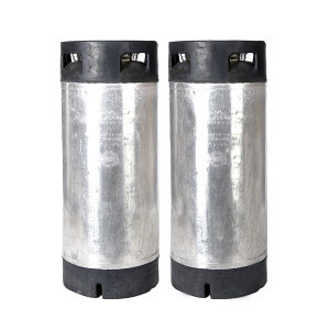 Beverage ElemenBeverage Elements Two Pack 5 Gallon Pin Lock Kegs Reconditionedts Two Pack 5 Gallon Stainless Steel Pin Lock Kegs Reconditioned