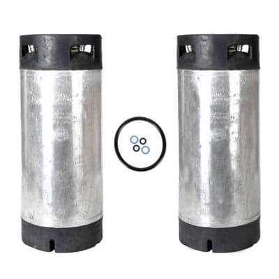 Beverage Elements Reconditioned 5 Gallon Pin Lock Keg Two Pack