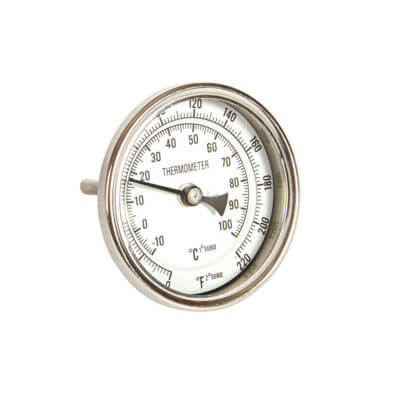 Beverage Elements bimetal dial brewing thermometer short stem