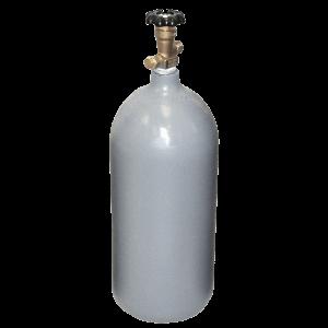 Beverage Elements 20 lb CO2 cylinder steel recertified