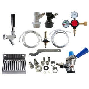 Beverage Elements Universal Kegerator Refrigerator Conversion Kit No CO2