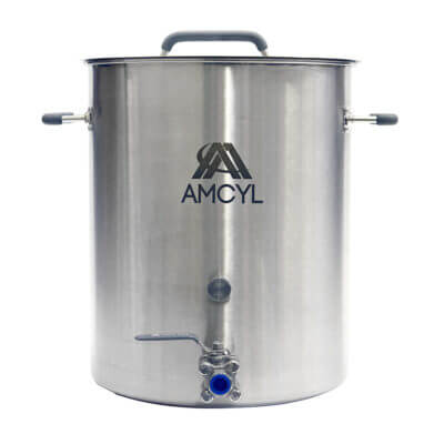 Beverage Elements 10 Gallon Brew Kettle Stainless Steel