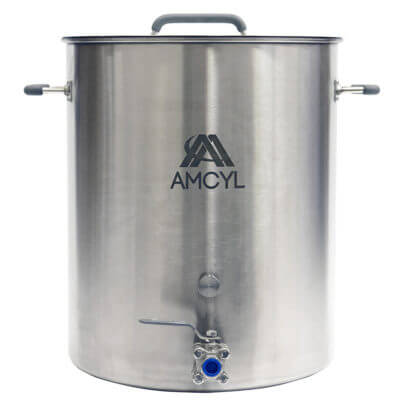 Beverage Elements 15 Gallon Brew Kettle Stainless Steel