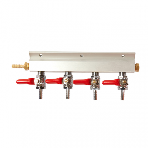 Beverage Elements Four Way Gas Manifold