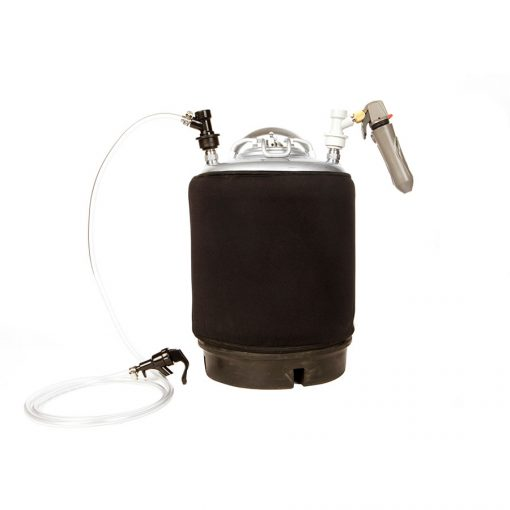Beverage Elements Portable Keg Party Kit with Handheld CO2 Charger