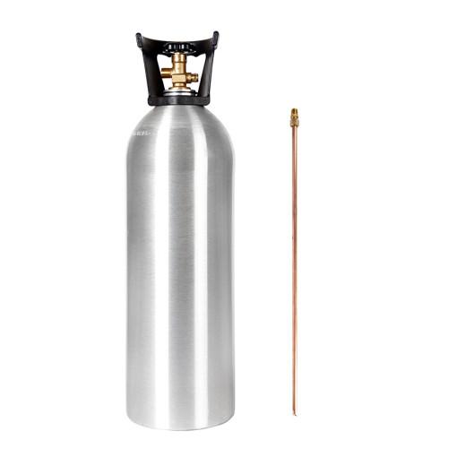 Beverage Elements 20 lb CO2 Cylinder Siphon Tube Handle Aluminum