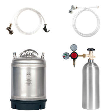 Beverage Elements Dual Keg Kegerator Kit KIT12