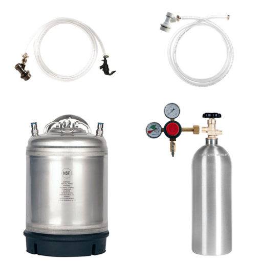 Beverage Elements Dual Keg Kegerator Kit KIT12
