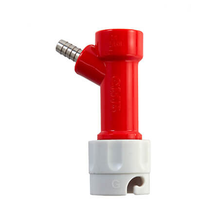 Beverage Elements Pin Lock Disconnect - Barbed - Gas In