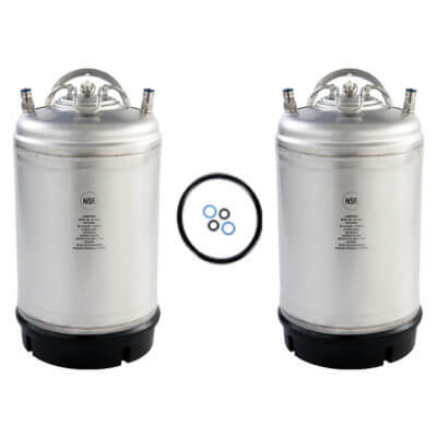 Beverage Elements 3 Gallon Ball Lock Keg Two Pack