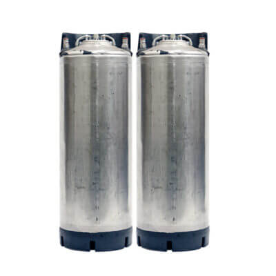 Beverage Elements 5 Gallon Ball Lock Keg Two Pack Class 3