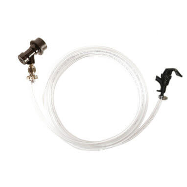 Beverage Elements Ball Lock Liquid Line Pigtail Threaded