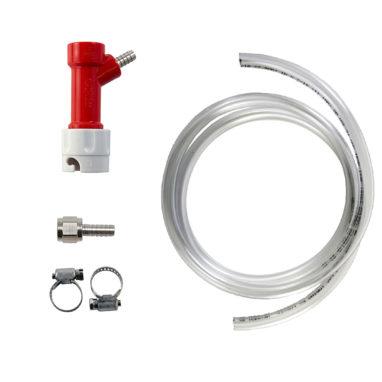 Beverage Elements Pin Lock Gas Line Pigtail - Barbed