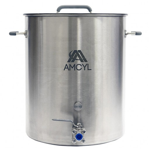 Beverage Elements 20 Gallon Brew Kettle Stainless Steel