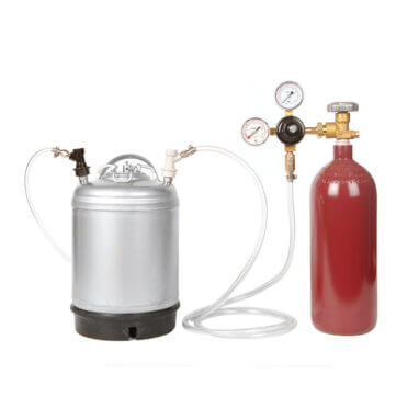 Beverage Elements Nitro Coffee Keg Kit 1 Closeup