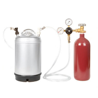 Beverage Elements Nitro Coffee Keg Kit 2 Closeup