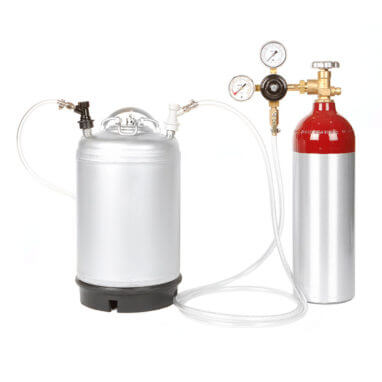 Beverage Elements Nitro Coffee Keg Kit 2AL Closeup