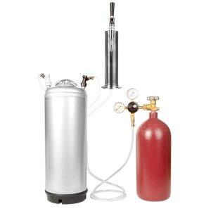 Beverage Elements Nitrogen Stout Beer Keg Kit 3
