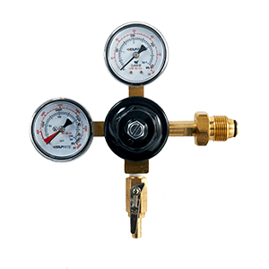 Taprite Dual Gauge Nitro Coffee Regulator