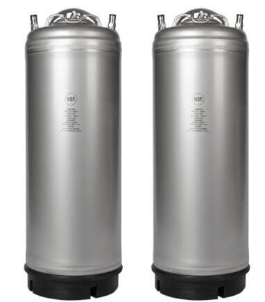 Beverage Elements AMCYL 5 Gallon Ball Lock Keg Two Pack 1000x1138