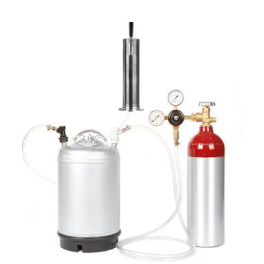 Beverage Elements Cold Brew Coffee 3 Gallon Keg Kit with Aluminum Tank