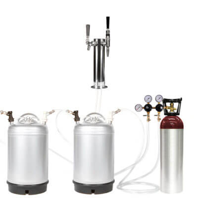Beverage Elements Cold Brew Coffee Nitro Coffee Keg Kit 4