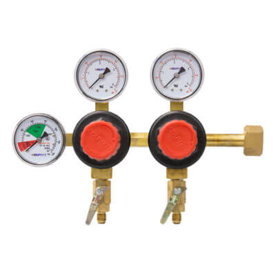Beverage Elements Dual Body CO2 Regulator