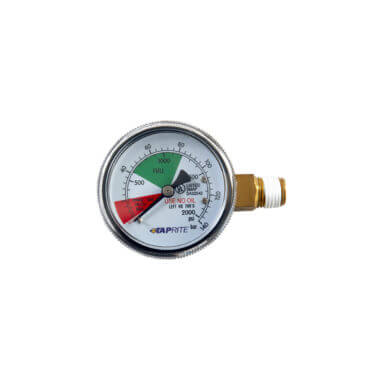 Beverage Elements Taprite High Performance 0-2000 PSI CO2 Regulator Gauge