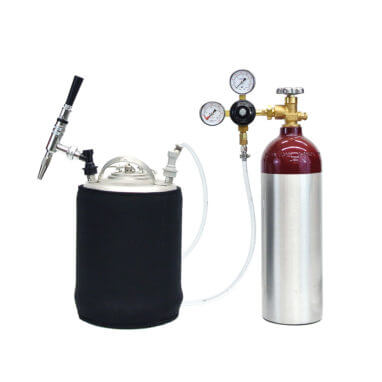 Beverage Elements Nitrogen Stout Beer Mobile Party Keg Kit