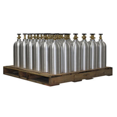 Beverage Elements 10 lb CO2 Aluminum CO2 Cylinders Pallet